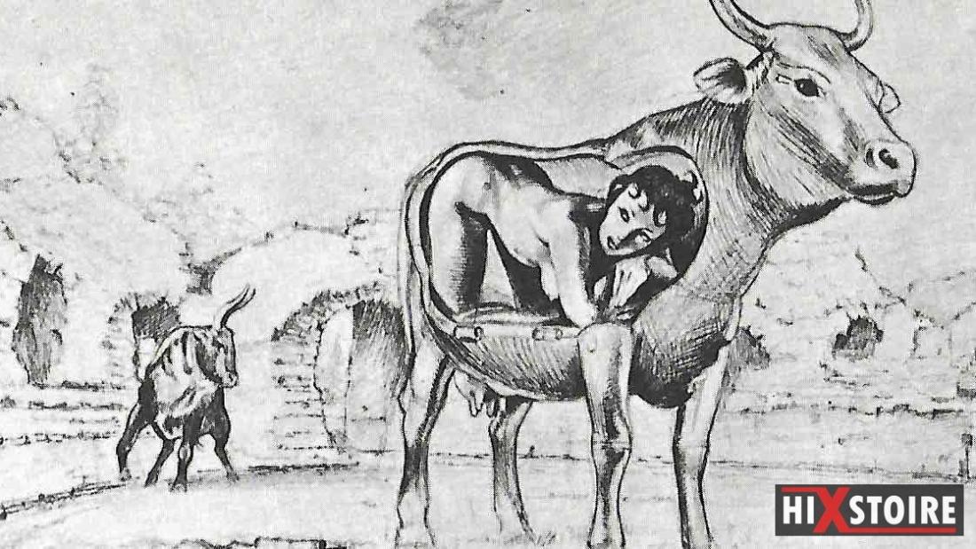 Michel Desimon - Mythe de Pasiphae