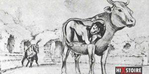 Une esclave violée par un taureau pendant le spectacle d'ouverture du Colisée à Rome