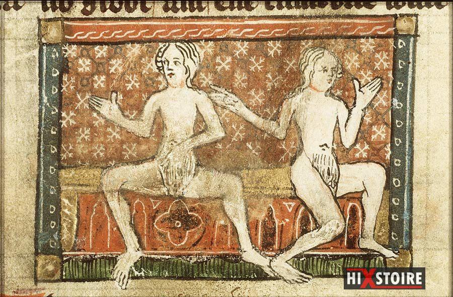 Hermaphrodites - Der naturen bloeme - Jacob van Maerlant (vers 1340 / 1350)