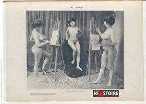 Le Nu artistique : études photographiques d'après nature - Paris 1905 - ou l'érotisme sous prétexte artistique