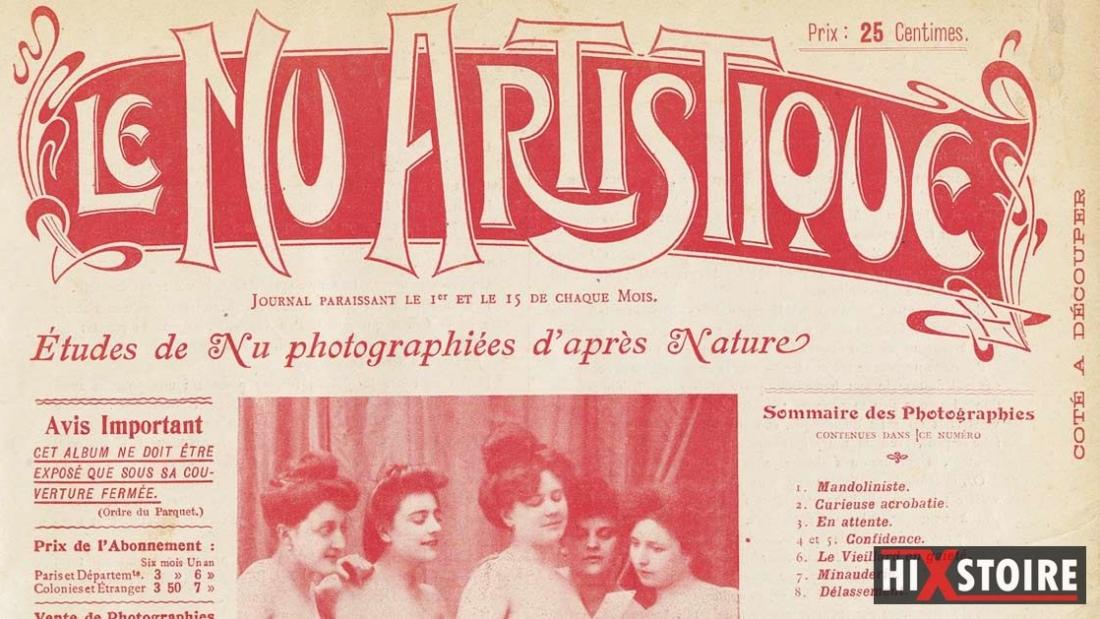 Le_Nu_artistique_etude-1905-paris-couverture