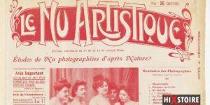 L'art contre la censure : «Le Nu Artistique : études photographiques d'après nature» – Paris 1905