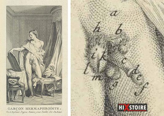 Garçon hermaphrodite - Moreau le jeune - 1773