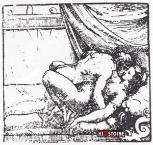 I Modi 1524 - Romano Raimondi gravure 12