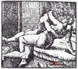 I Modi 1524 - Romano Raimondi gravure 13