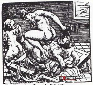 I Modi 1524 - Romano Raimondi gravure 14