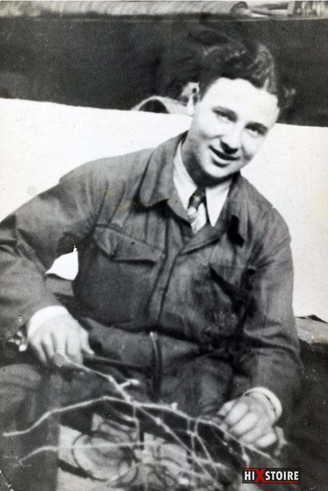 Peter van Pels, le jeune homme dont s'éprend Anne Frank, en 1941.