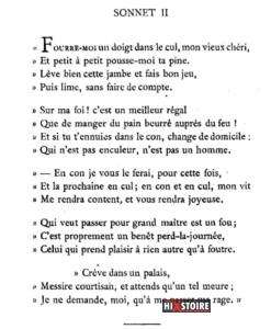 les Sonnets luxurieux de Pierre l'Arétin - Sonnet 2