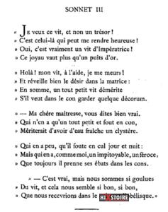 les Sonnets luxurieux de Pierre l'Arétin - Sonnet 3