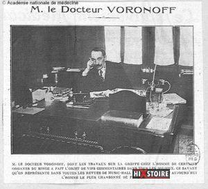 Le docteur Voronoff devient la risée de ses contemporains ...