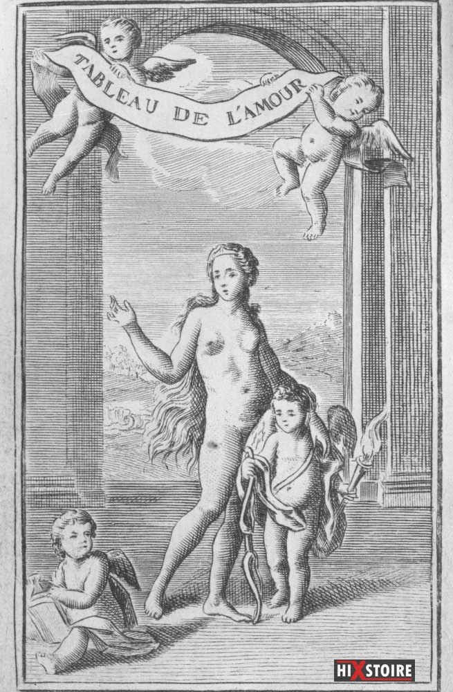 Tableau de l'amour - Frontispice - 1789