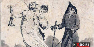 Le chevalier Tape-Cul, ce singulier personnage qui tapotait les fesses des Parisiennes à la fin du 18e siècle