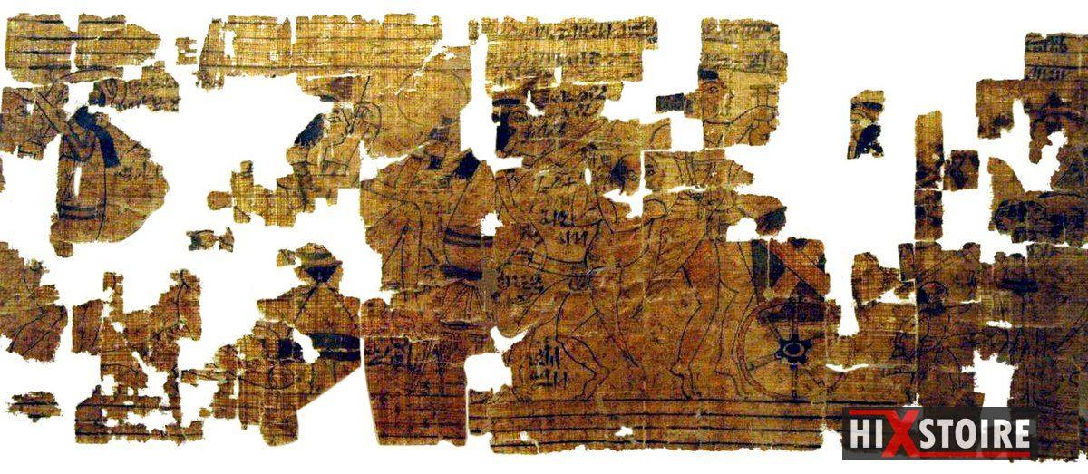 Le Papyrus érotique de Turin