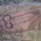 Un pénis géant en graffiti découvert sur le mur d'Hadrien